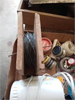 WIRE ROLL, KNIFE SHARPENER AND MISC