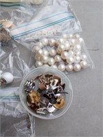 COSTUME JEWELRY, TIE CLIPS AND MISC