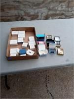 18 BOXES OF AVON COSTUME JEWELRY