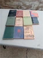 11 VINTAGE BOOKS