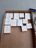 17 BOXES OF AVON COSTUME JEWELRY