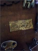 ANTIQUE HANDLES/DOOR KNOBES, MISCELLANOUS IRON