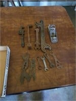 ANTIQUE  - PLAIN, PIPE WRENCH, TOOLS