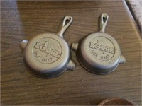 MINI CAST IRON PANS