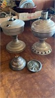 OIL LAMPS AND DECORATIONS