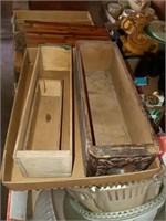 9 VINTAGE BOXES