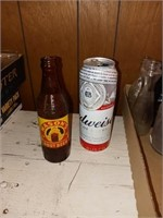 VINTAGE BOTTLES AND CANS