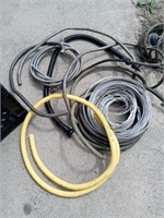 VARIOUS HOSES AND WIRE