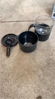 TINY COFFEE MAKER, ALUMINUM COFFEE POTS, TOM &
