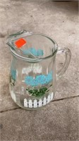 GLASS SHOT GLASSES, PITURES, MISC ITEMS