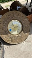 CLOCK, OLD FASHION KITCHEN WARE