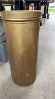 TALL METAL AMMUNITION CONTAINER