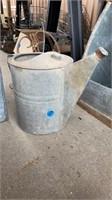 SPRINKLER CAN & METAL STORAGE BOX WITH SLIDE LID