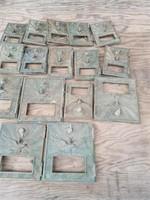 16 BRASS POST OFFICE BOX DOORS