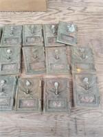 15 BRASS POST OFFICE BOX DOORS