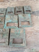 9 BRASS POST OFFICE BOX DOORS