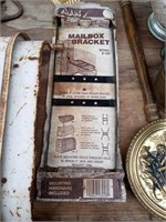 MAILBOX BRACKET AND MISC METALS