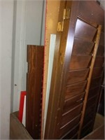 PABST MILWAUKEE WOODEN BOX AND WOOD SHUTTERS