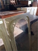 2 GLASS CABINET DOORS ONLY