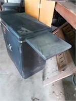 METAL 2 DOOR SHOP CABINET
