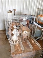 ANIMAL CAGE AND STOVE TOPS
