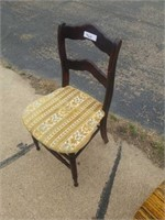 2 PADDED SEAT CHAIRS