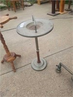 ANTIQUE - TABLE LAMP, STAND, ASH TRAY, LAMPS