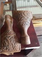 CAST IRON CLAW LEGS