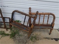 YOUTH BED FRAME,  EASEL, MISCELLANOUS ITEMS