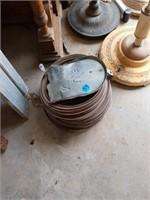 COPPER WIRE AND MAILBOX DOOR