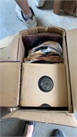 VINTAGE VICTROLA RECORDS ABOUT 50 LBS WORTH AND