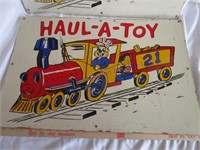 HAUL-A-TOY SIGN