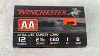 (25) Winchester Xtra-Lite target loads 12 Gauge