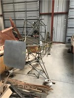 Green Prospector Airplane Frame, Project