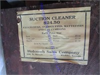 VINTAGE SUCTION CLEANER