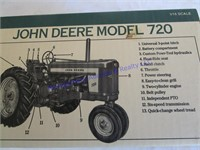 JD 720 TRACTOR