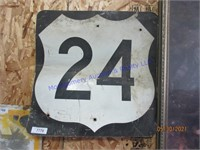 HIWAY 24 SIGN