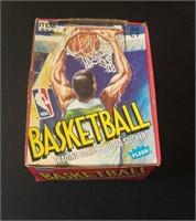 1989 Fleer basketball wax box