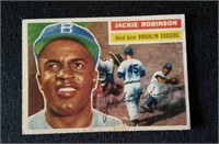 1956 Topps Jackie Robinson #30