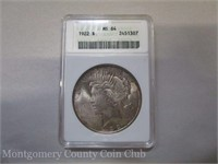 Montgomery County Coin Club Online Auction #7