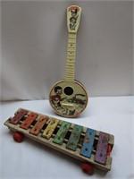 6/24/21 Vintage Tin Toys,  Furniture, & Musical Instruments