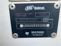 Bobcat S300 Turbo Skid Loader w/ Hi-Flow 1129 hrs