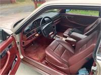 1989 Mercedes Benz 560SEC (one owner)