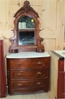 Marble Top Victorian Dresser