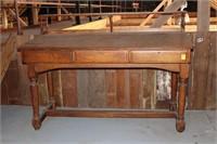 Oak Standing Desk