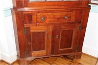 Early 12 Pane Cupboard