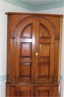 Blind Door Corner Cupboard