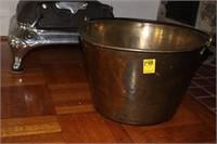 Early Brass Pot