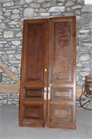 Solid Wooden Doors With Bass