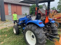 New Holland TC40A 4x4 Diesel Tractor - 1053 hours